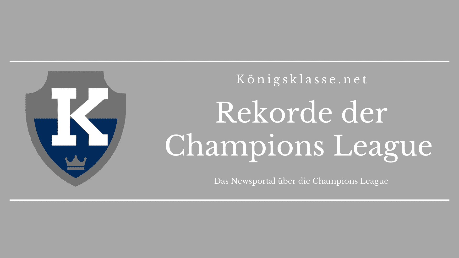 Torschützenliste Champions League