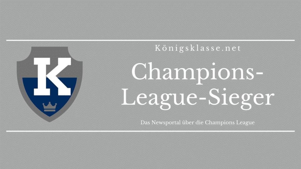 Alle Champions-League-Sieger bzw. Sieger der Champions League gibt es hier kompakt in der Übersicht.