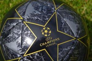 Das ist ein Symbolbild zur Champions League. Champions-League-Prognose, Achtelfinale, Viertelfinale, Halbfinale, Finale, Gruppenphase.
