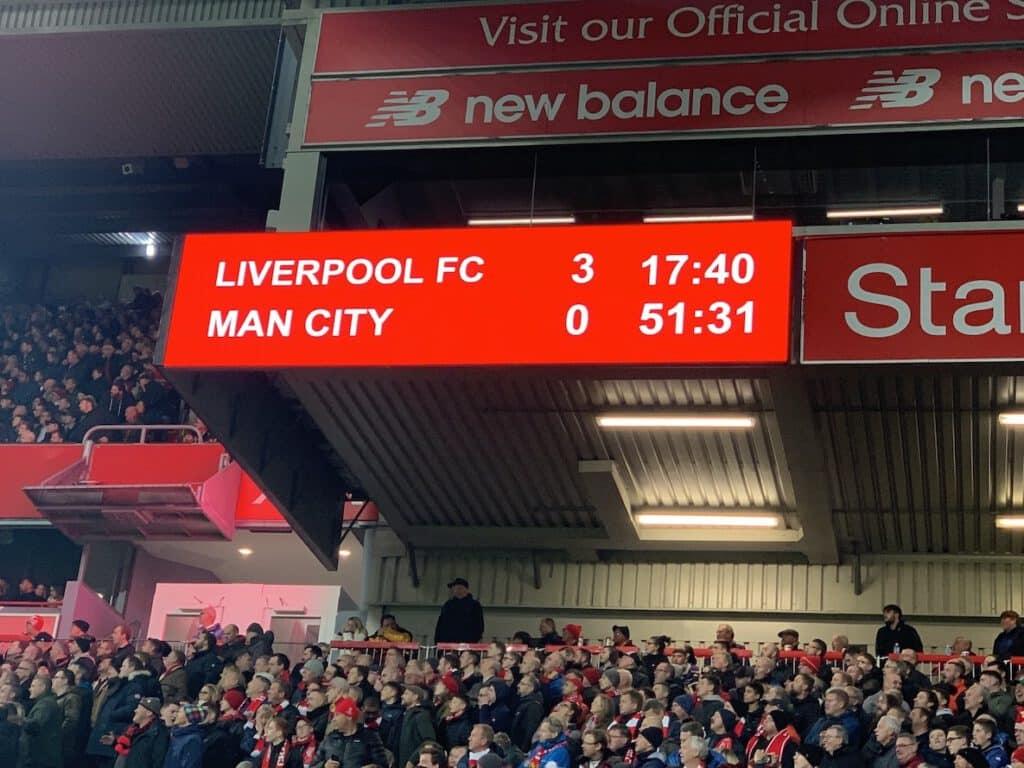 Der Liverpool FC setzte sich 2019 mit 3:1 gegen den Dauerrivalen Manchester City durch. Beide spielen in der Champions League.