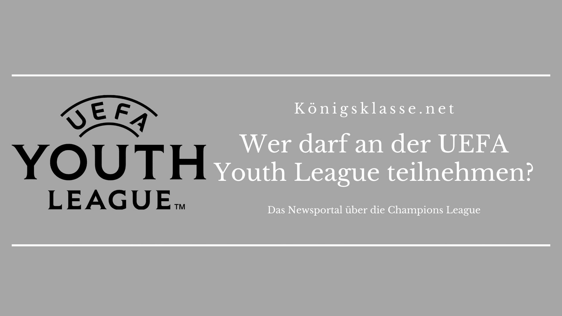 Die UEFA Youth League ist die Champions League der Junioren.