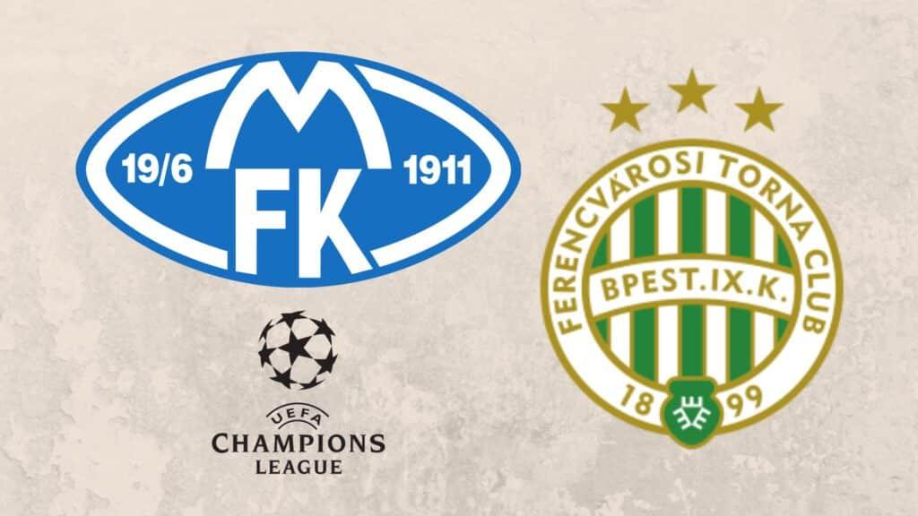 Molde FK und Ferencvaros Budapest stehen in den Playoffs zur Champions League. Einer der Klubs wird sich für die Gruppenphase qualifizieren.