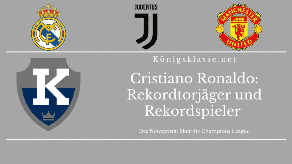 Cristiano Ronaldo ist bereits der erfolgreichste Torjäger der Champions League - bald ist er auch der Rekordspieler der Champions League.