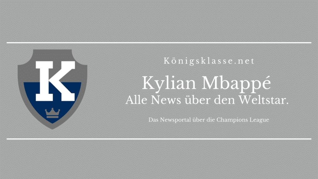 Kylian Mbappé / Mbappe von Paris Saint-Germain / : Hier gibt's es alle Informationen über Kylian Mbappé. Alter, Erfolge, Vereine, Champions League, News, Alter, Gehalt, Größe, Herkunft, Erfolge.